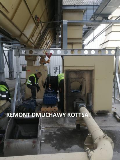 Remont dmuchawy Rottsa